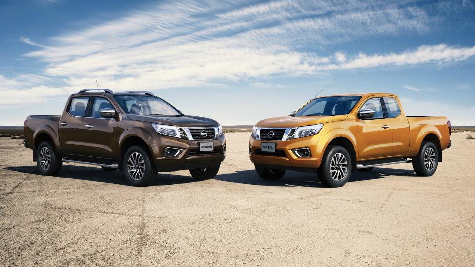 Nissan привезет во Франкфурт европейскую версию пикапа Navara