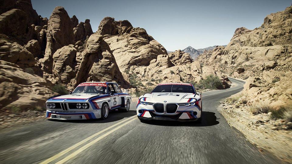 Компания BMW сделала R-версию концепт-кара 3.0 CSL Hommage