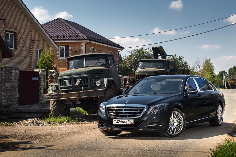 Три дня в роли наемного водителя Mercedes-Maybach. Фото 14