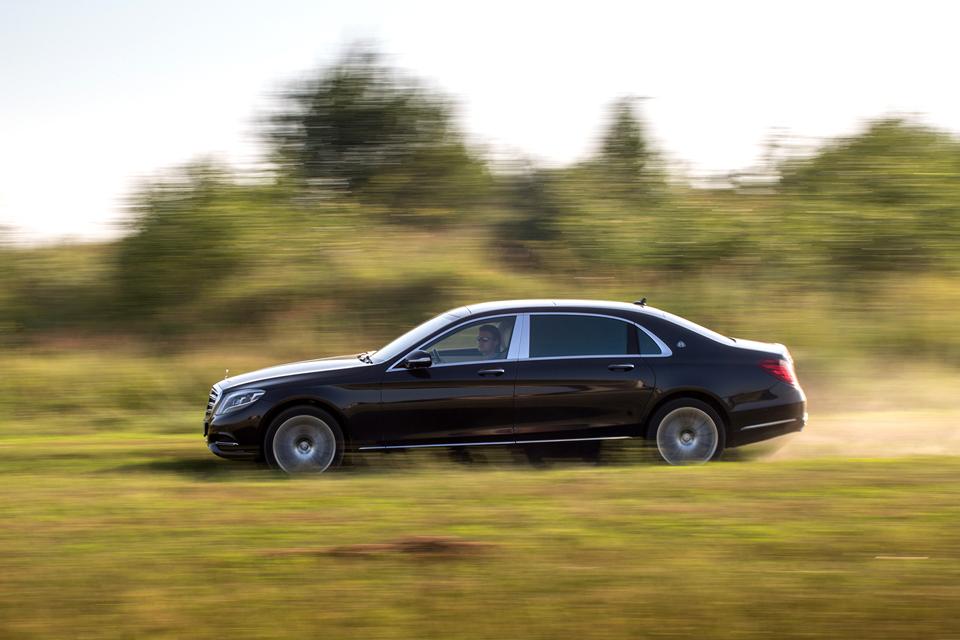 Три дня в роли наемного водителя Mercedes-Maybach