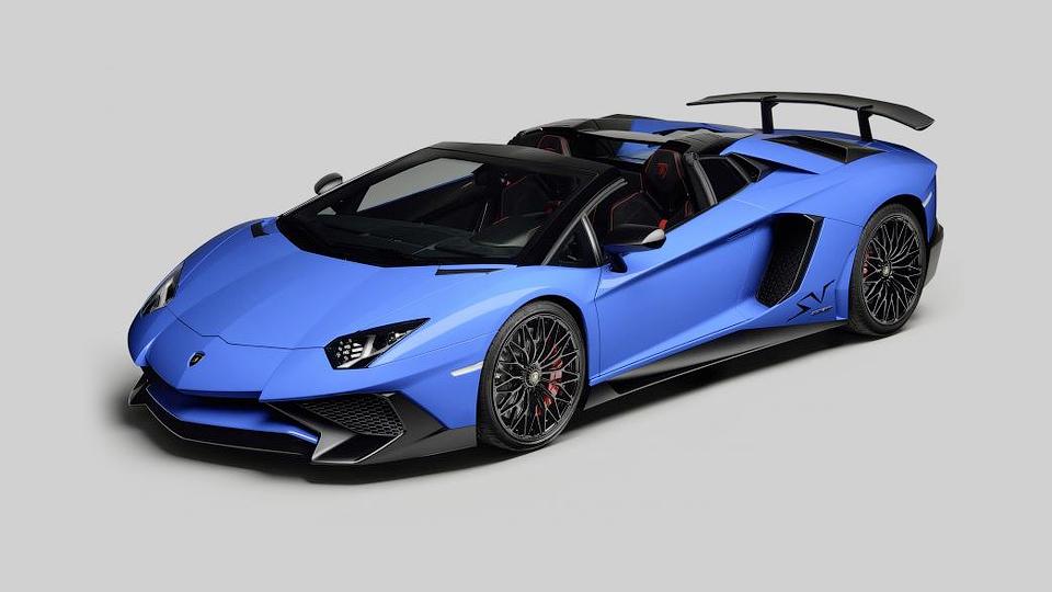 Компания Lamborghini построила «заряженный» Aventador без крыши