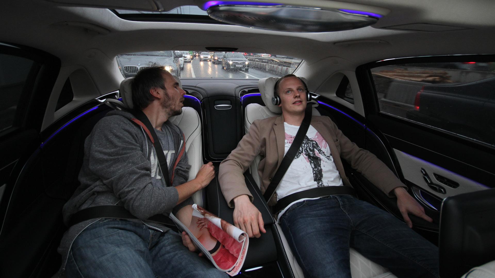 Три дня в роли наемного водителя Mercedes-Maybach. Фото 15