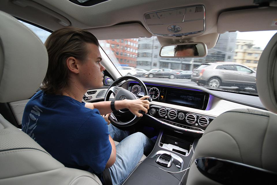 Три дня в роли наемного водителя Mercedes-Maybach. Фото 8