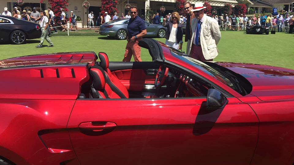 Тюнинг-ателье GAS построило спецверсию Ford Mustang