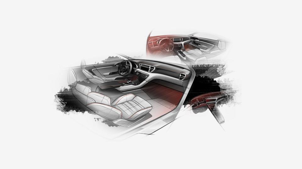 Рассекречен интерьер Kia Sportage нового поколения