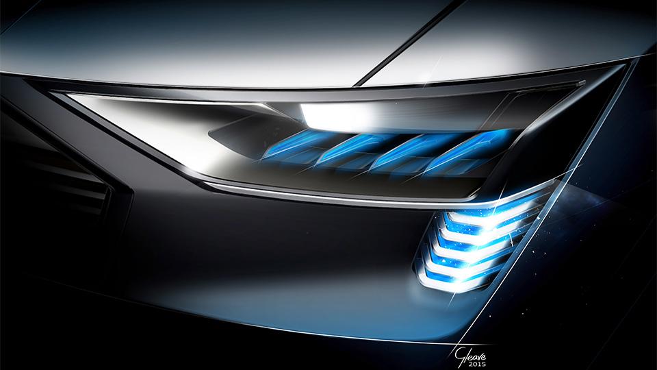 У электровседорожника Audi будет лучший в классе коэффициент лобового сопротивления. Фото 1
