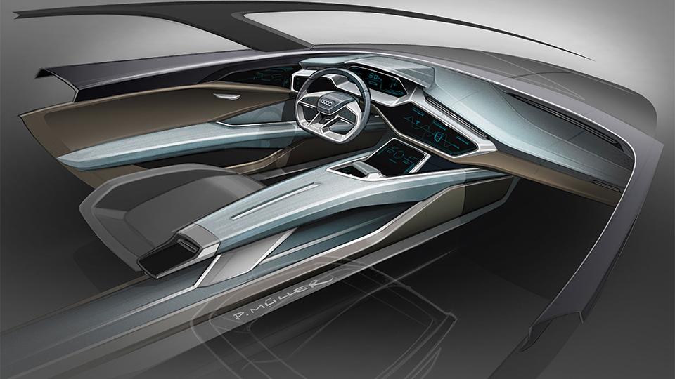 У электровседорожника Audi будет лучший в классе коэффициент лобового сопротивления