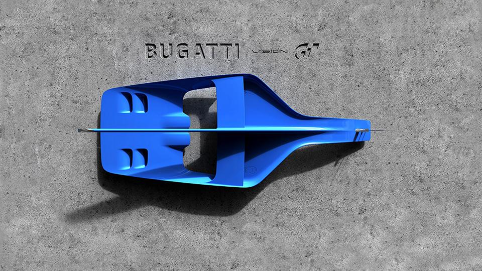 Компания Bugatti показала фрагмент машины для Gran Turismo 6