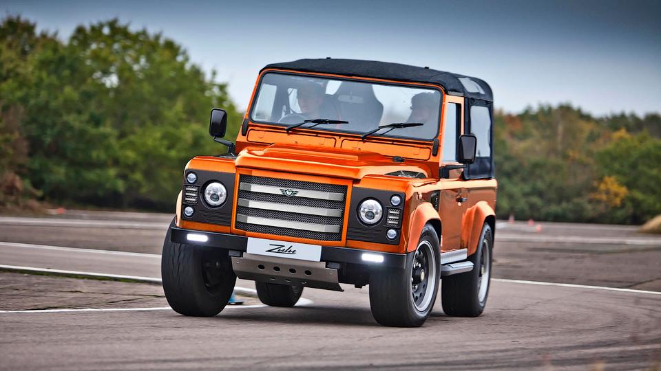 Британцы превратили Land Rover Defender в 481-сильный спорткар