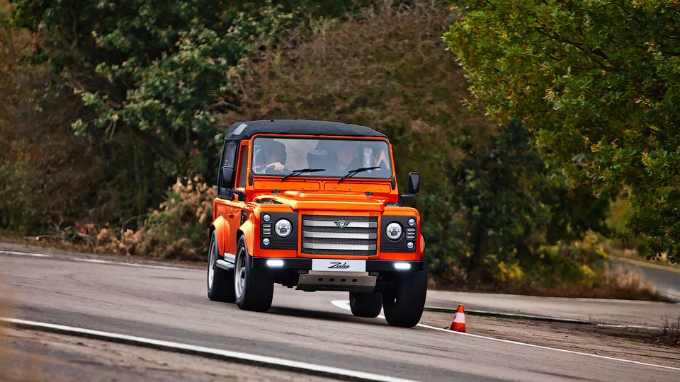 Ателье JE MotorWorks выпустит 25 эксклюзивных внедорожников . Фото 1