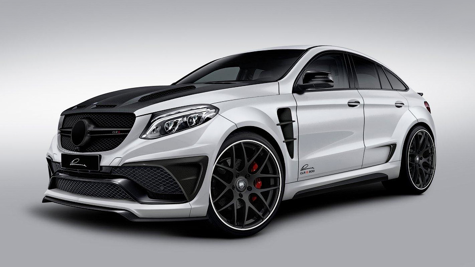 Ателье Lumma показало сверхагрессивный Mercedes-Benz GLE Coupe