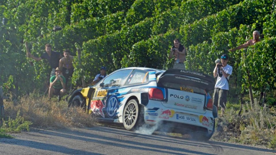Volkswagen занял весь подиум на домашнем этапе WRC