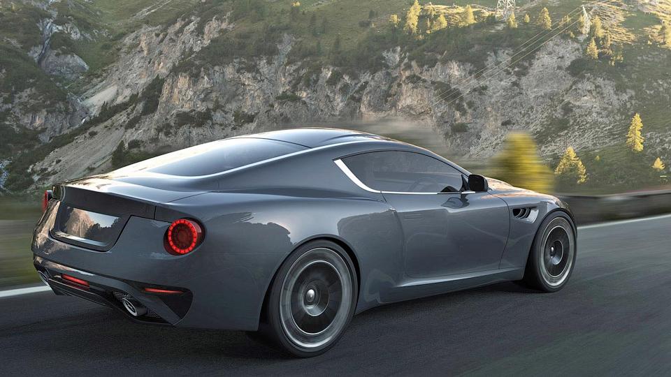Компания показала свой новый алюминиевый суперкар в движении