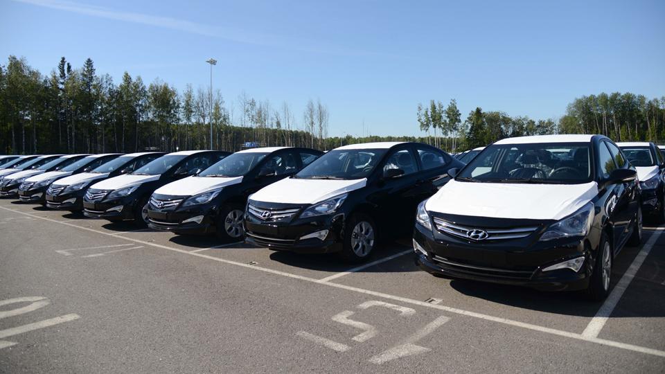 В России начали собирать Hyundai Solaris для Египта и Ливана