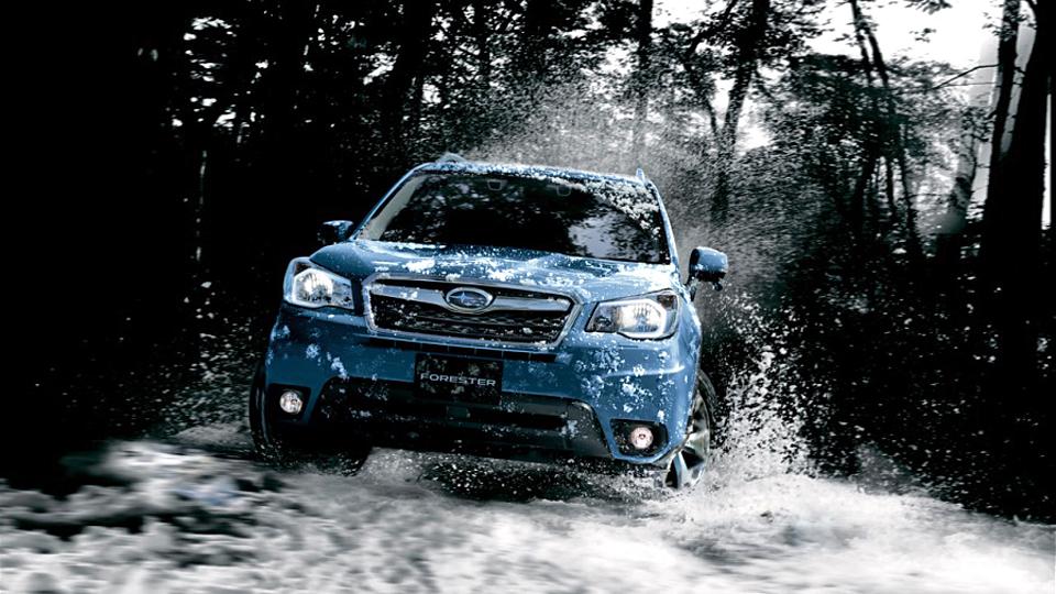 Компания Subaru привезла в Россию «активный» Forester