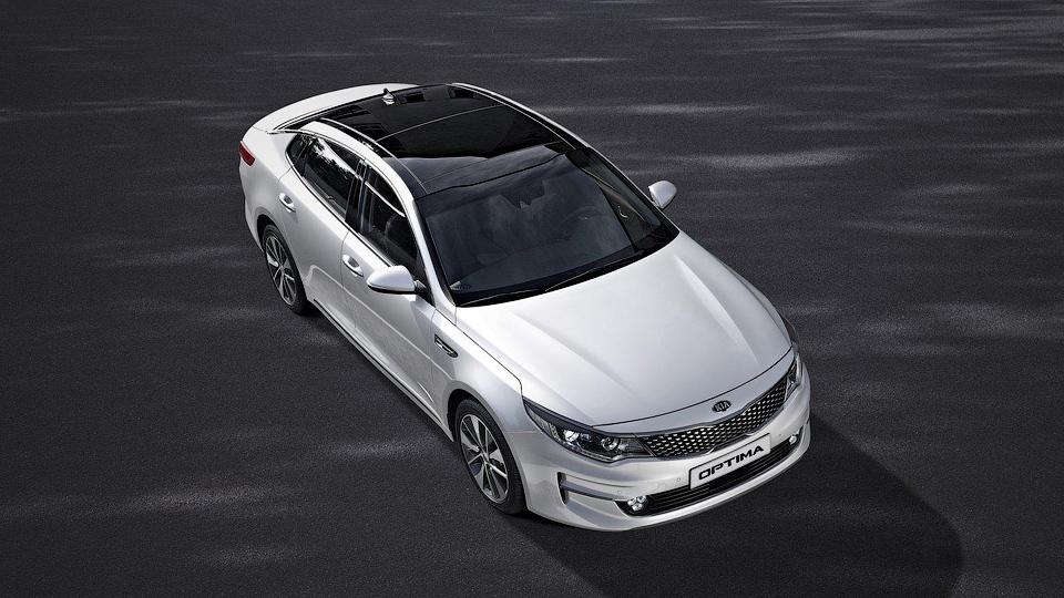 Kia представила европейский вариант новой «Оптимы»