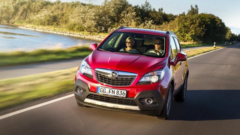 Opel отзовет в России 11 тысяч вседорожников Mokka