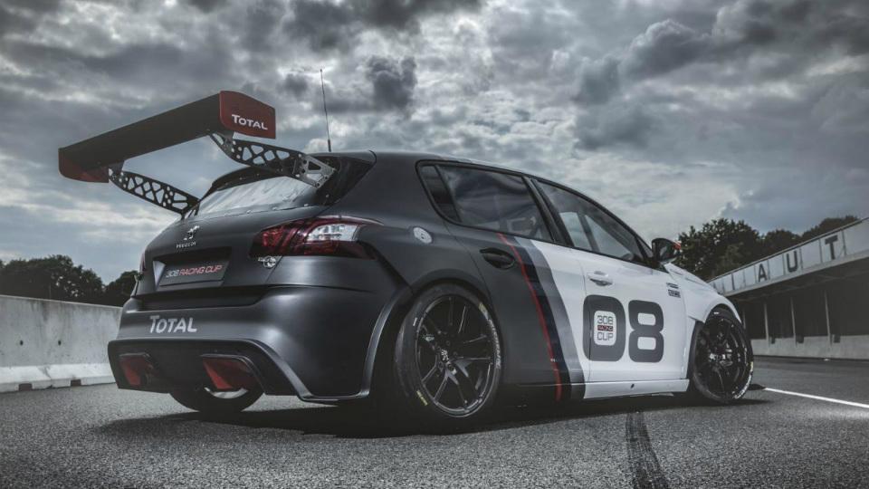 Peugeot 308 Racing Cup получил 308-сильный двигатель