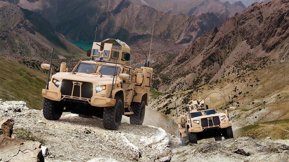 Армия США выбрала замену военному «Хаммеру»