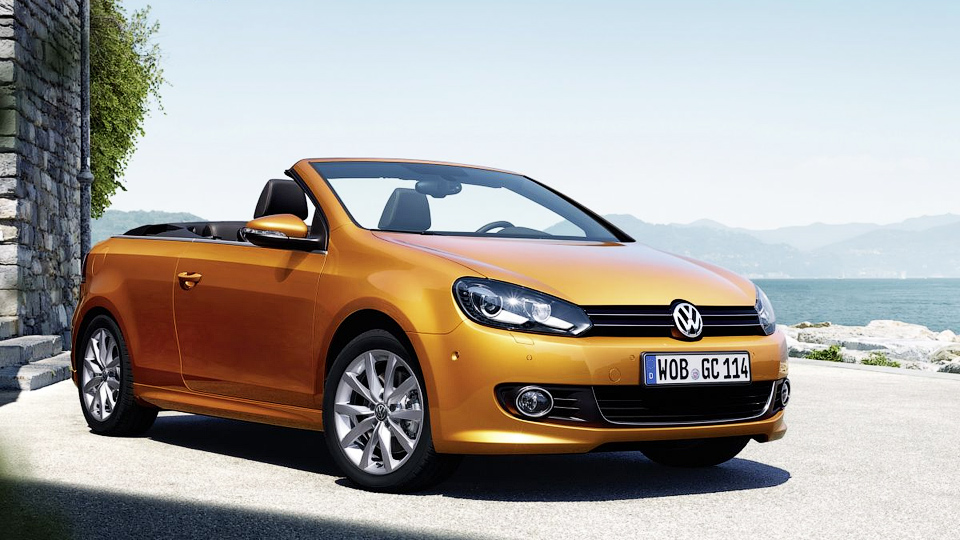 Volkswagen слегка обновил кабриолет Golf