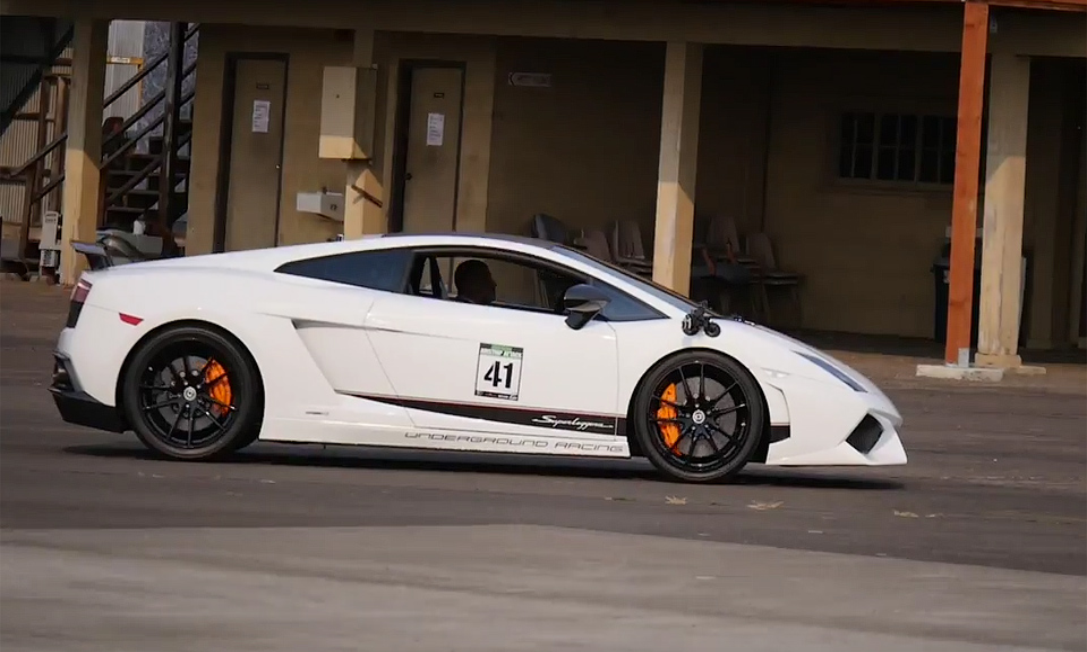 Lamborghini Gallardo за 800 метров разогнался до 378 километров в час