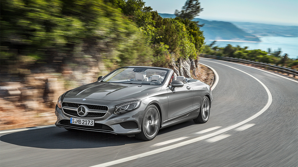 Mercedes-Benz S-Class стал кабриолетом