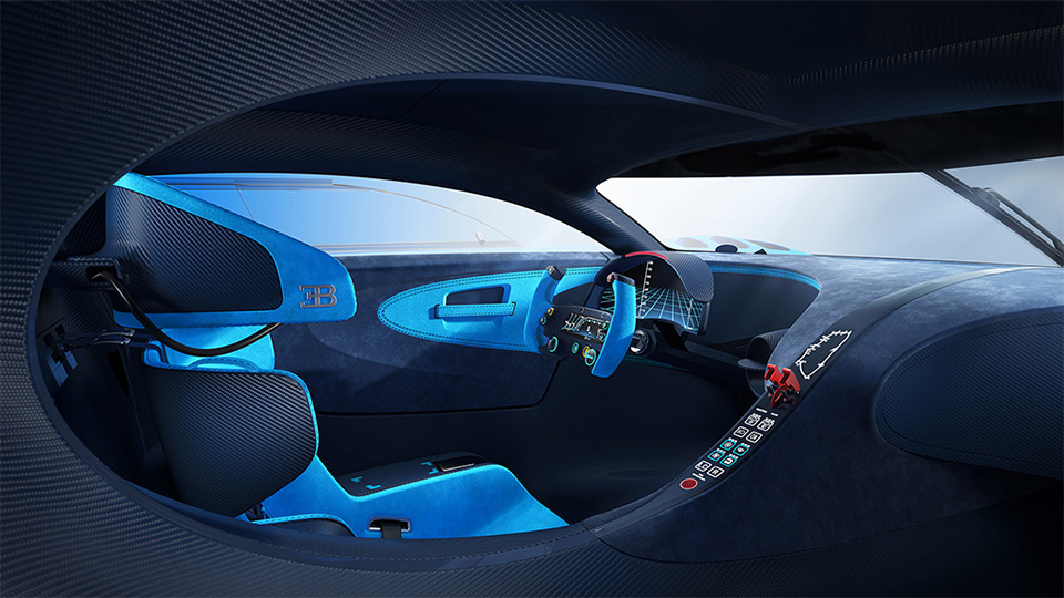 Полноразмерный макет Bugatti Vision Gran Turismo покажут во Франкфурте. Фото 1