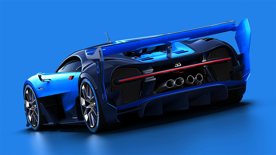 Полноразмерный макет Bugatti Vision Gran Turismo покажут во Франкфурте