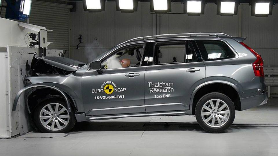 Новый Volvo XC90 установил рекорд на краш-тесте Euro NCAP