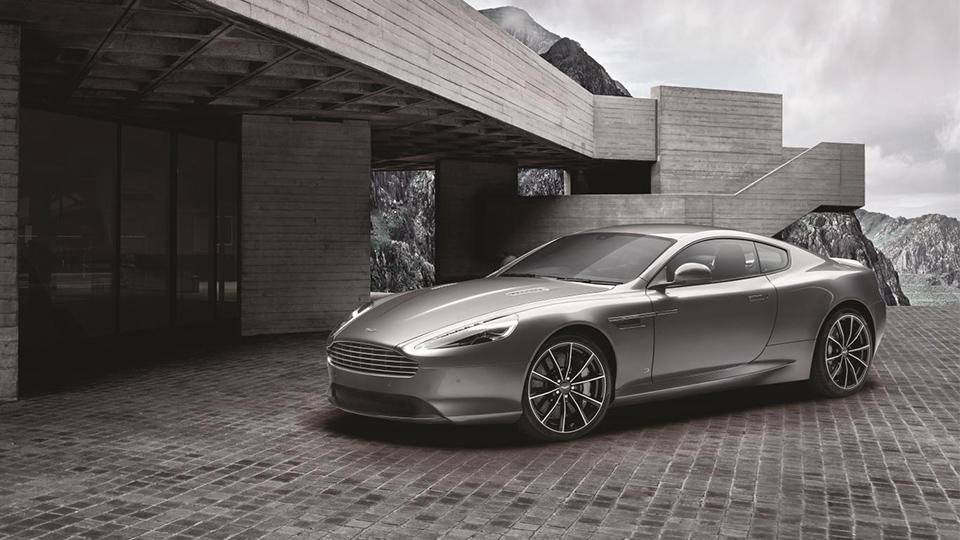 Спецверсию Aston Martin DB9 посвятили Джеймсу Бонду
