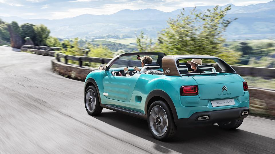 Компания представила концепт-кар Cactus M