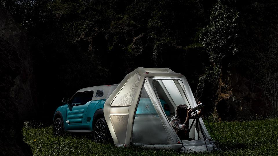 Компания представила концепт-кар Cactus M. Фото 1