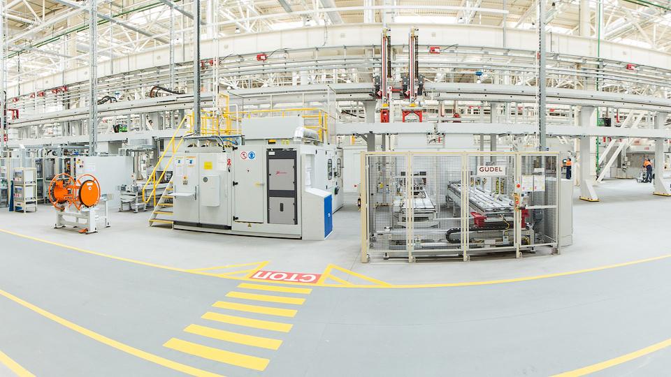 В Татарстане открылся завод совместного предприятия Ford Sollers