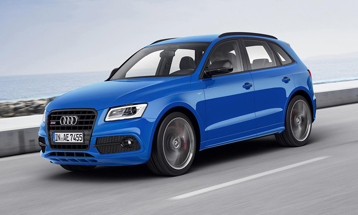 Кроссовер Audi SQ5 стал мощнее
