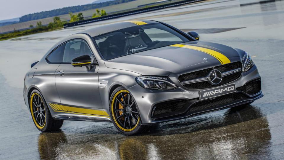 У купе Mercedes-AMG C 63 появилась первая спецверсия