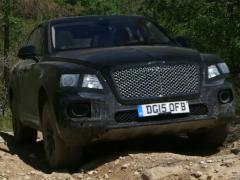 Bentley Bentayga прошел испытания на высокой скорости