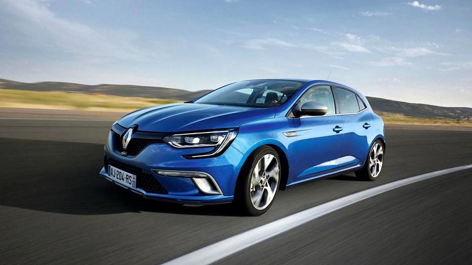 Появились первые снимки Renault Megane нового поколения