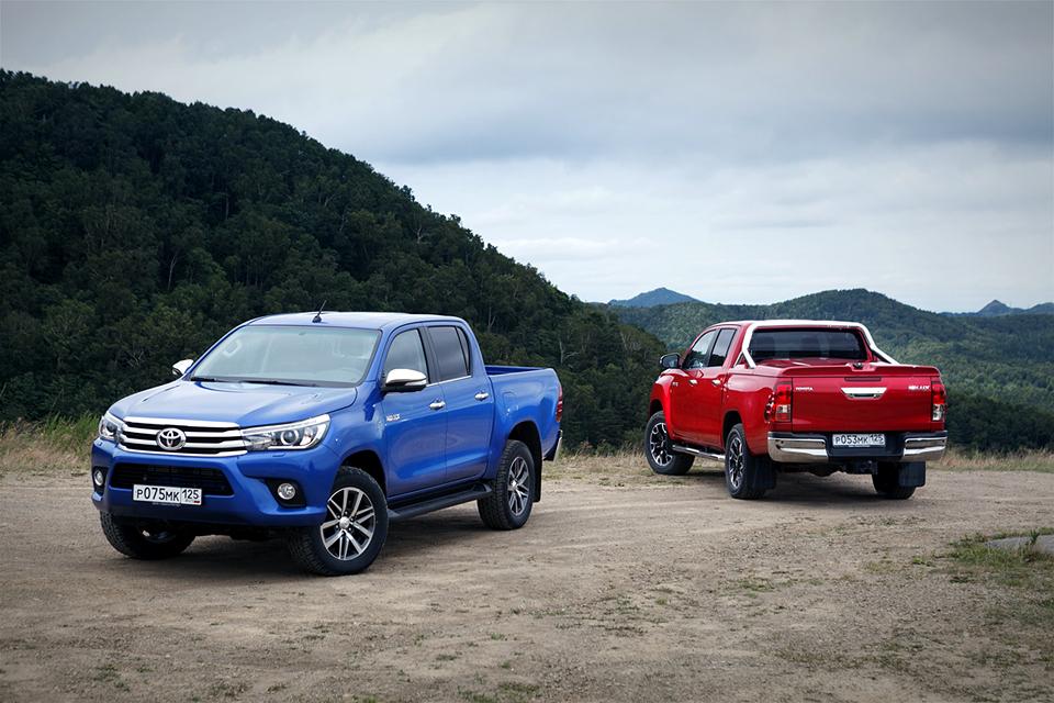 Что общего между Toyota Hilux и ралли-рейдами