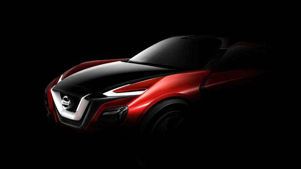 Nissan привезет во Франкфурт концептуальный кроссовер