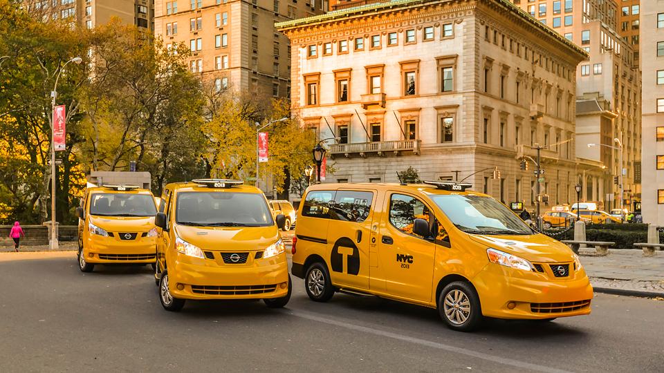 Нью-йоркские таксопарки переведут на минивэн Nissan