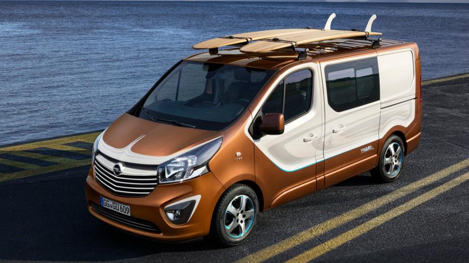 Opel выпустил минивэн для серферов