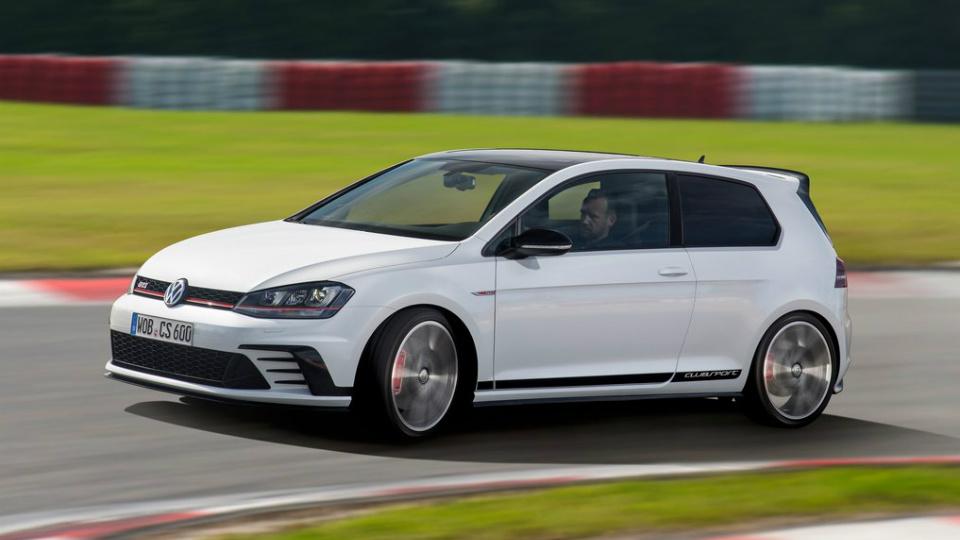Volkswagen представил мощнейший переднеприводный Golf