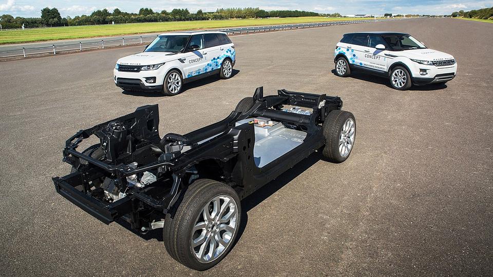 В Land Rover рассказали о будущих электрокарах и гибридах