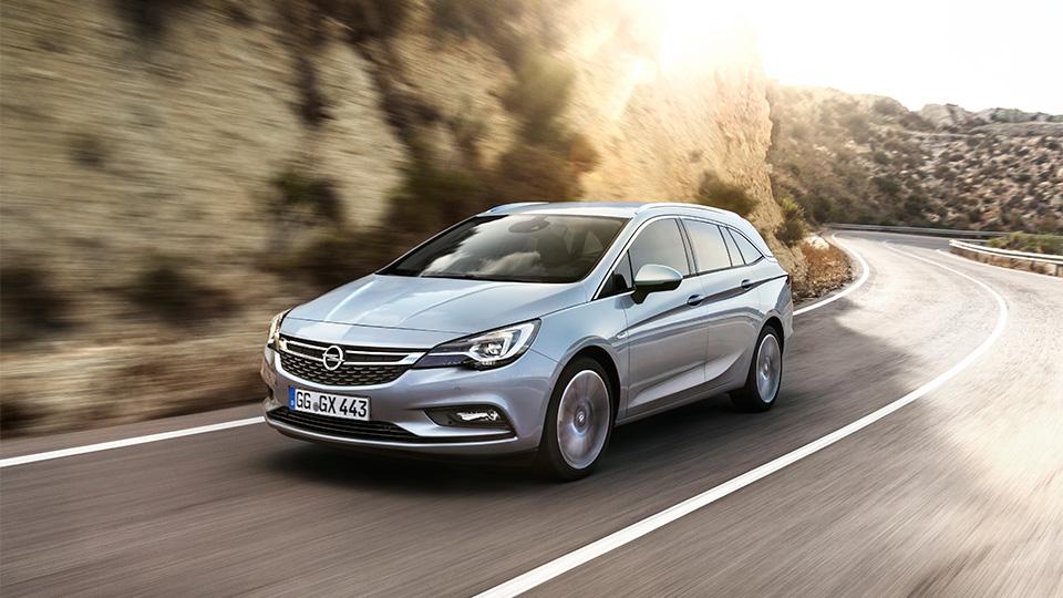 Универсал Opel Astra стал на 200 килограммов легче