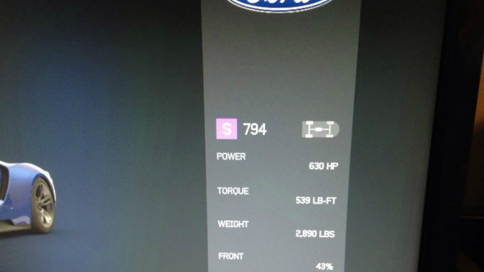 Характеристики купе рассекретили в игре Forza Motorsport 6
