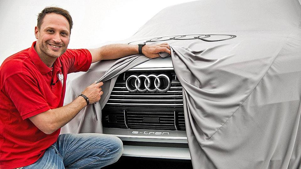 Опубликованы первые фотографии электрокроссовера Audi