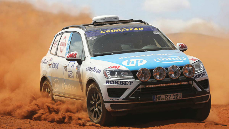Volkswagen Touareg проедет через два континента за 10 дней