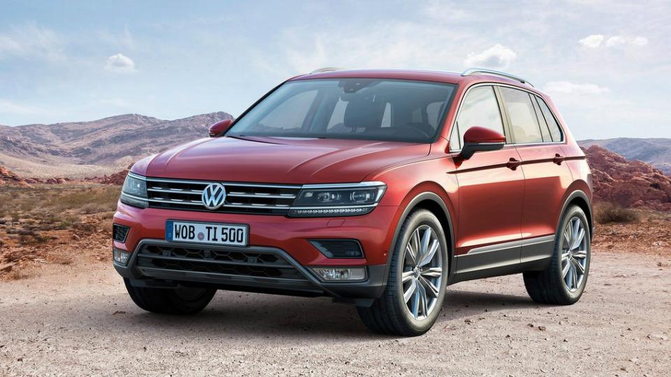 Volkswagen представил Tiguan нового поколения