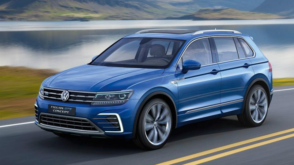 Volkswagen сделал Tiguan гибридом с солнечными батареями