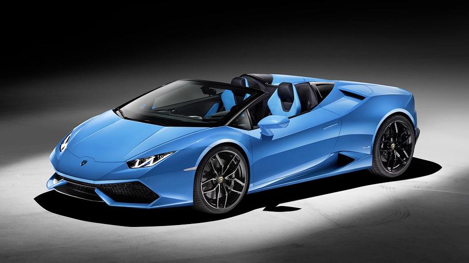 Lamborghini Huracan лишился крыши